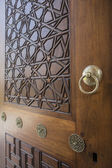 Door detail of The Suleymaniye Mosque, Istanbul, Turkey — Stock Photo