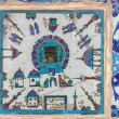 Kaaba tile in Rustem Pasha Mosque, Istanbul, Turkey — Stock Photo #22454417