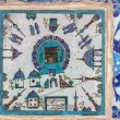 Kaaba tile in Rustem Pasha Mosque, Istanbul, Turkey — Stock Photo