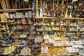 Souvenirs in Grand bazaar, Istanbul — Stock Photo