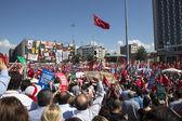 Occupy Gezi, Taksim, Istanbul — Stock Photo