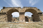 The Basilica Baths in Hierapolis, Denizli, Turkey — Stock Photo
