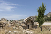 Ruins in Northern Necropolis of Hierapoli, Denizli, Turkey — Stock Photo