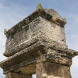 Tomb in northern necropolis of Hierapolis, Denizli, Turkey — Stock Photo