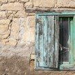 Window of a house in Country side, Anatolia, Turkey — Stock Photo