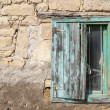 Stock Photo: Window of house in Country side, Anatolia, Turkey
