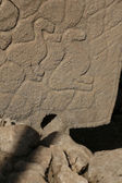"Reliefs at Gobekli Tepe ""Potbelly Hill"" in Sanliurfa, Turkey — Stock Photo"