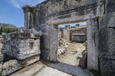 Ruins in Northern Necropolis of Hierapoli, Denizli, Turkey — ストック写真
