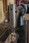 Old sewing machine — Zdjęcie stockowe