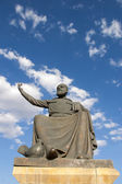 Statue of Haci Bektas Veli, Nevsehir — Stock Photo