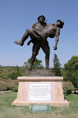 Monument to soldier, Canakkale — Stock Photo