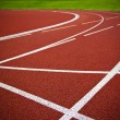 Athletics Start track lanes — Stock Photo #25178529