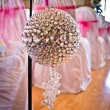 Schutte wedding aisle decoration — Stock Photo