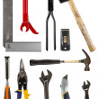 Isolated tools collection — Stock Photo