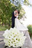 婚礼花束 — 图库照片