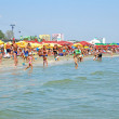 Mamaia beach in Romania — Stock Photo