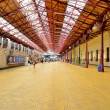 Bucharest North railway station - Stock Photo
