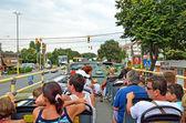 Double-Decker tourist bus — Stock Photo