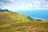 Mountain landscape in Sinaia, Romania — Stock Photo