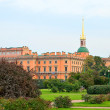 Mikhailovsky Castle in St-Petersburg, Russia — Stock Photo #13205156