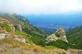 Dağ manzarası transylvania'da, romanya — Stok fotoğraf