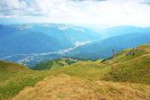 在特兰西瓦尼亚,罗马尼亚山风景 — 图库照片