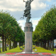 Monument to the sailors in St. Petersburg, Russia - Stockfoto