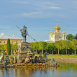 Foto Stock: Peterhof, near St. Petersburg, Russia