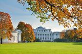 Vacker park med yelagin palace — Stockfoto