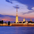 The Peter and Paul Fortress in St. Petersburg, Russia — Stock Photo