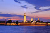 The Peter and Paul Fortress in St. Petersburg, Russia — Stockfoto