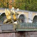 Griffins on the Bank bridge — Stock Photo #13687648