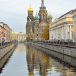 Stock Photo: Griboedov Canal in St-Petersburg, Russia