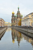 Griboedov Canal in St-Petersburg, Russia — Stock Photo