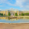 Upper Park in Peterhof,  Russia — Stock Photo