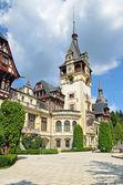 замок пелеш — Стоковое фото