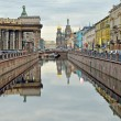 Griboyedov Canal in St-Petersburg, Russia — Stock Photo