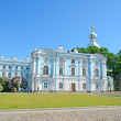Smolny Cathedral in St-Petersburg, Russia — Stock Photo