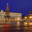 Stock Photo: St. Petersburg, Russion Christmas