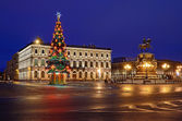 St. Petersburg, Russia on Christmas — Stock Photo