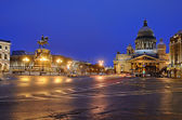 Petersburg, Russia in an evening — Stock Photo