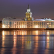 Stock Photo: Museum of Anthropology and Ethnography in Petersburg, Russia