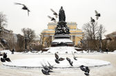 Monument to Catherine the Great — Stock Photo