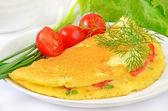 Omelette — Stock Photo