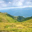 Summer landscape in Transylvania — Stock Photo
