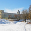 Gatchina Palace and park - Stock Photo