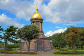 Chapel of the Most Holy Trinity in Petersburg, Russia. — Stock Photo