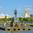 "Fountain ""Neptune"" in Peterhof, Russia. — Stock Photo #23651411"