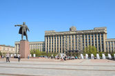 Moscow square in Petersburg, Russia. — Stock Photo