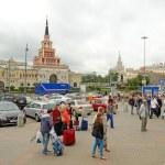 People near the Leningradsky station — Stock Photo #29597863